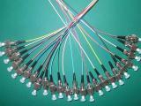 厂家直销FC/PC12芯束状尾纤尾缆 可