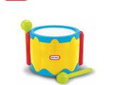 little tikes 美国小泰克过家家玩具 敲击乐鼓 乐器玩