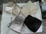 2014新款银色双肩包PU包学院风女包风编织软皮包欧美黑色女式包