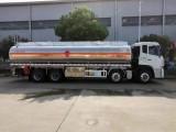 东风前四后八25吨油罐车 天龙铝合金30方运油车