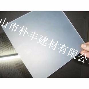 光扩散耐力板 扩散pc板 单面磨砂pc扩散板 厂家