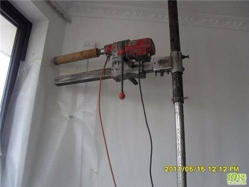专业管道疏通 水钻打孔