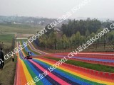 滑草草平质量保证滑草设计安装一条龙服务七彩滑道彩虹滑草