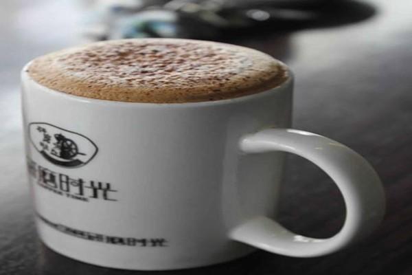 研磨时光咖啡店,专业的手工拉花咖啡馆 咖啡图书馆