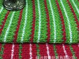 【精品面料】粗针腈纶金毛线布料金线提花面料双面针织可订货生产