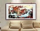 山水画靠山图国画名家真迹同款装饰客厅画