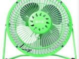居优乐小风扇 USB风扇 6寸绿色 铝叶 电脑散热 夏季抗暑 M