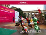 模型专家上海升美玻璃钢雕塑厂家彩绘蚂蚁雕塑模型定制