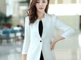 2014女装新款小西装女士韩版修身短外套蕾丝长袖小西服