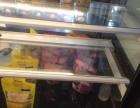 饮品店展示冰柜