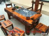 直销船木茶桌茶几茶台中式功夫茶桌老船木家具原生态实木茶桌