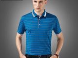 男士短袖T恤高档桑蚕丝短袖t恤衫2015夏季新款 一件代发