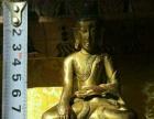 清代鎏金小铜佛像
