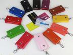 2014新款厂家生产批发真皮牛皮钥匙包多色12色可定制LOGO一件代发