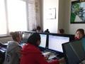 银川贺兰平面广告设计培训学校 办公软件学习 实操班