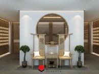 合肥茶楼设计装修 茶楼棋牌室装修公司 茶楼装修案例
