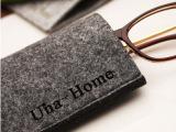 UNA-HOME**设计 毛毡环保眼镜袋 墨镜眼镜套