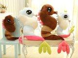 一件代发 新款睡觉海马抱枕 毛绒玩具 布娃娃公仔 生日礼物 1.