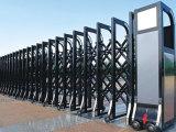 创鸿业不锈钢提供的电动伸缩门怎么样_鄂尔多斯电动伸缩门