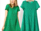 新品欧美风ASOS专柜同款万花筒蕾丝短袖连衣裙大摆宽松裙