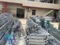 苏州户外仓储雨棚移动伸缩雨棚布活动推拉蓬汽车遮阳蓬停车篷房