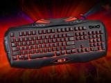 剑圣一族901 机械键盘手感 USB游戏键盘 激战2 英雄联盟一