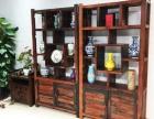 老船木博古架多宝格 实木古董架瓷器架 置物架储物架 茶壶