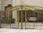 天津市专业制作安装铁艺大门铸铁大门别墅大门