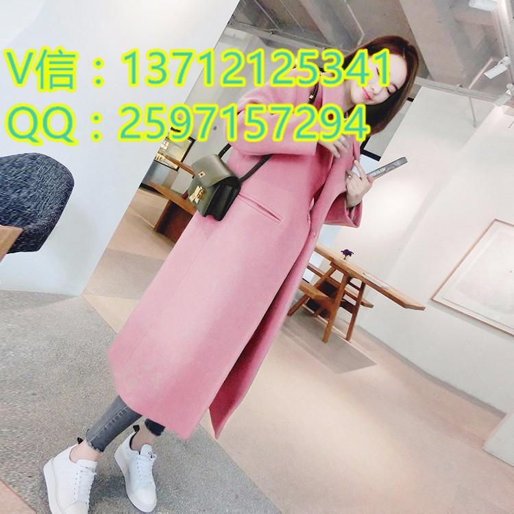 梅州外贸时尚韩版棉衣外套厂家直销品牌折扣女式棉衣大衣批发市场