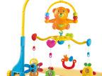 优贝比小熊音乐转转乐8802A床铃挂铃婴儿床铃床挂儿童玩具0-1岁