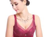 厂家直销高档记忆钢圈调整型文胸千奈美明星同款品牌内衣胸罩批发