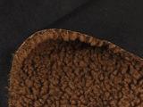 厂家直销太极绒复合麂皮绒烫金面料 秋季经典全涤毛绒面料批发