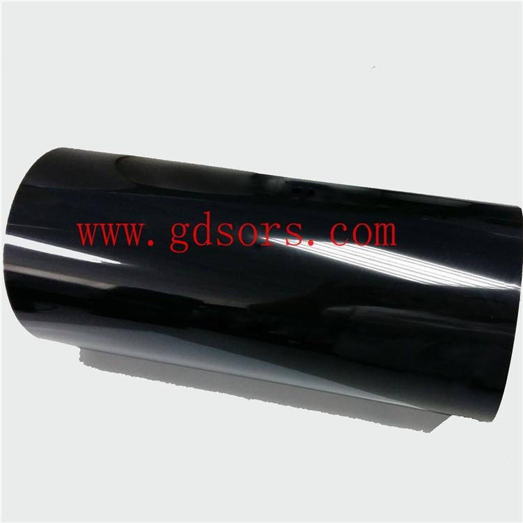 94V0阻燃黑色聚酰亚胺胶带 阻燃PI胶带 阻燃黑色金手指胶