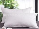天霖 酒店宾馆客房床上用品全棉羽丝绒枕头/枕芯/纤维枕厂家直销