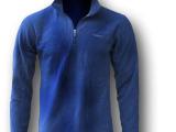 外贸原单男款专业运动 立领 套头 抓绒衣 半拉链抓绒卫衣