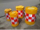 全新料吹塑三孔水马 优质塑料注水水马隔离护栏 韧性高循环使用