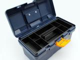 鵬工工具廠生產15寸抗摔耐壓加厚ABS塑料工具箱手提釣箱