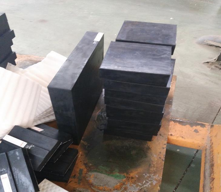 减震橡胶垫块 氯丁橡胶垫块 橡胶缓冲垫块