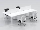 厦门办公家具职员办公桌简约现代屏风员工钢架电脑桌椅组合