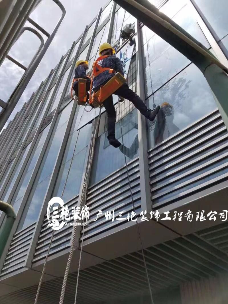 广州幕墙玻璃更换 广州幕墙玻璃维修工程 幕墙维修服务