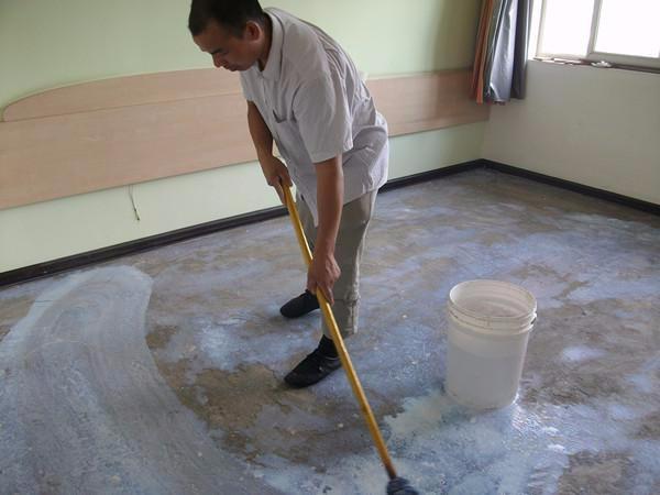 写字楼办公学校pvc地板施工养老院塑胶地板卷材/片材施工安装