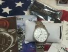 低价转一块白色正品天梭手表男士手表