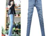 一件代销2014潮女春夏装牛仔裤女士修身韩版小脚裤子女新款休闲裤