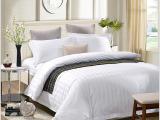 批发宾馆专用床单被套白色酒店布草 宾馆纯