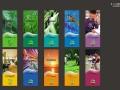 彩色名片印刷天河区画册印刷设计五羊新城宣传单页设计