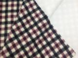 厂家直销双刷单摇 复合摇粒绒格子印花 超厚保暖冬装 家纺面料