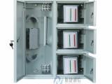 壁挂式48芯分纤箱 高级冷轧板三网合一箱 光纤配线箱