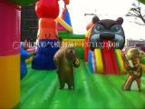 上海充气儿童城堡定做玉溪充气趣味气模大型模型