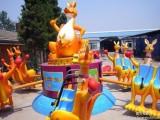 郑州智宝乐游乐设备厂家热销新款旋转袋鼠跳 儿童游乐设备