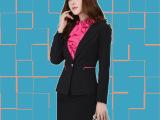 2015韩版时尚职业女装酒店前台工作服长袖空姐服餐厅领班套装批发